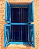 A blue door on Changuu Island Prison Island. Changuu Island is a small island 5.6 km north-west of Stone Town, Unguja, Zanzibar. The island is around 800m long Stock Photos
