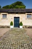 Blue Door - Classic Door - Period Door Royalty Free Stock Photos
