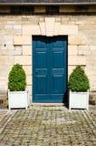 Blue Door - Classic Door - Period Door Royalty Free Stock Image