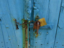 The blue door Royalty Free Stock Photography