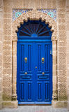 Blue door in Essaouira, Morocco Stock Photos