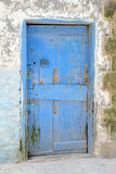 Blue door Morocco Royalty Free Stock Photo