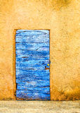 Blue Door, Provence. Blue door texture wood France Provence stock photography