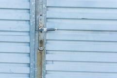 Blue door Stock Photo