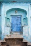 Blue Doorway Royalty Free Stock Photos