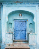 Blue Doorway Royalty Free Stock Photo