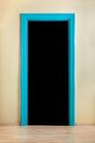 Blue doorway. Stock Photography