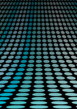 Blue doted floor. Blue 3D doted floor vector Royalty Free Stock Photo