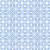 Blue dots. Illustration of seamless blue polka dots pattern vector illustration
