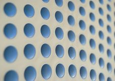 Blue dots royalty free stock photos