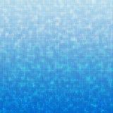 Blue dots background Stock Photo