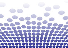 Blue dots for backgrounds Royalty Free Stock Image