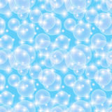 Blue dots seamless background pattern Vector Illustration, Graphic Design Useful For Your Design. Bright Blue Abstract Stock Photo
