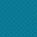 Blue dots seamless pattern Stock Photos