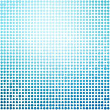 Blue dots. On white background Royalty Free Stock Image