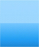 Blue dotted pattern Royalty Free Stock Images