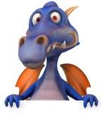 Blue Dragon Stock Image