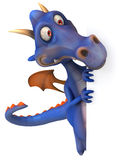 Blue Dragon Royalty Free Stock Images