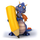 Blue Dragon Stock Photo