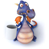 Blue Dragon Royalty Free Stock Photo