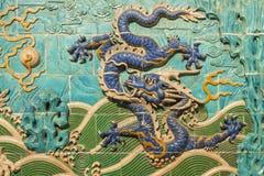 blue dragon Fotografia Stock