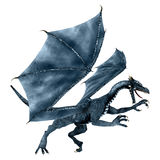 Blue Dragon Stock Image