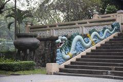 Blue dragon Stock Photos