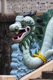 Blue dragon Royalty Free Stock Photo