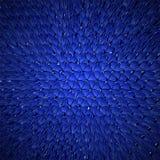 Blue dragon skin background, realistic squama Royalty Free Stock Photo