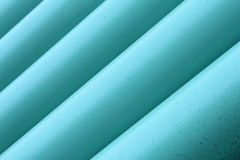 Blue Drainage Pipe Stock Photography