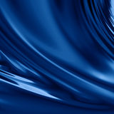 Blue drapery Royalty Free Stock Images
