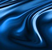 Blue drapes Stock Photos