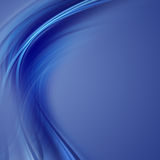 Blue dream. Elegant wave design with space for your text Royalty Free Stock Images