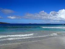 Blue Dream. Zoni Beach Puerto Rico day dream Stock Images