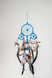 Blue dreamcatcher Royalty Free Stock Image