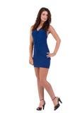 Blue Dress stock image