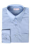 Blue dress shirt Stock Photography