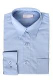 Blue dress shirt Stock Photography