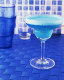 Blue drink Stock Image
