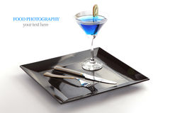 Blue Drink Royalty Free Stock Photography
