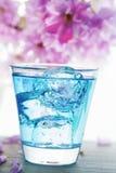 Blue drink pour Stock Images