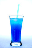 Drink blue Royalty Free Stock Photos