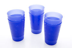 Blue drinking mug Stock Photo