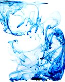 Blue Drips Royalty Free Stock Images