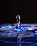 Blue drop Stock Photos
