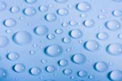 Blue drop background Stock Photo