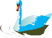 Blue duck Royalty Free Stock Photo