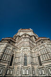 Blue duomo portrait Royalty Free Stock Images