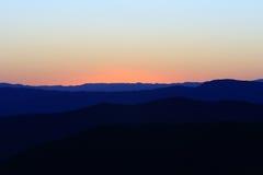 Blue dusk Stock Image