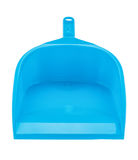 Blue dustpan Royalty Free Stock Photography
